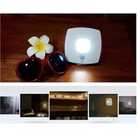 Wholesale Light Control Night LED Light W V Dry Battery LED Lamp with PC for Kitchen Bathroom Toilet