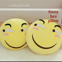 Wholesale coolcoolcool funny interesting creative personality funny eye pillow or pillow doll face inclined boyfriend s or girlfriend s birthday g