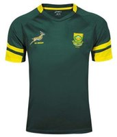 africa shirts - Rugby Union South Africa Country new jersey High temperature heat transfer printing jersey Rugby Shirts