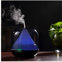 Wholesale CAROLA Aroma Diffuser ml Water Capacity Electric Ultrasonic Aroma Diffuser Hours Working Time Essential Oil Diffuser black