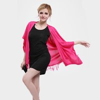 Wholesale Women Female Solid Color Long Style Fashion Cardigan Shrug Jumper of Cotton with Tassel Fringe Changable Scarf Tippet Shawl