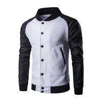 Wholesale geek new men s jacket big pocket slim baseball