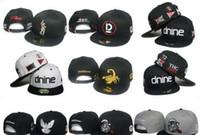 Venta al por mayor-2017 nuevas gorras de béisbol de la reserva DNINE D9 de la reserva D9 Gorras del sombrero de los snapback de las malas hierbas de los hombres de la manera o casquillo del sombrero del salto de la cadera de las mujeres casquillo