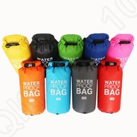 Wholesale 10L Waterproof Dry Bag Sports Outdoor Portable Storage Bag for Swimming Drifting Diving Portable Camping Water Survival Package Bag OOA1175