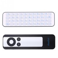apple tv wireless keyboard - iPazzPort Portable Mini Set top Box Remote Control Shell Bluetooth Wireless Keyboard Work for Apple TV