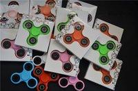 al por mayor bolas de rodamiento-Hand Spinner espiral dedos Fidget Spinner ABS Shell de acero de rodamiento de bolas Hand Spinner Fidget juguete para matar el tiempo