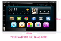 Wholesale Android Navigation Quad Cores Din Car Autoradio DVD Player for Nissan Tiida X trail Qashqai Sunny