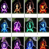 animal games for boy - DHL Free League of Legends Game LOL Crystal LED Key Chain Pendant Key Ring Led Light LOL Gift for Christmas Party Cheap