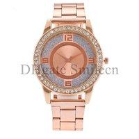 Wholesale New York Fashion Brand Watches diamond crystal quartz wristwatch top luxury Famous watch for women men ladies mens Silver Rose Gold MW01