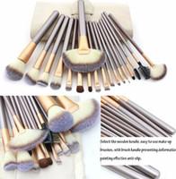 Wholesale Hotrose Makeup Brushing Brush Set Soft Synthetic Professional Cosmetic Makeup Foundation Powder Blush Eyeliner Brushes