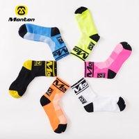 Wholesale Monton Unisex Mens Cycling Socks Bike Footwear for Road NEW Socks Outside Sport Wear resistant Anti odor Bicycle Sock