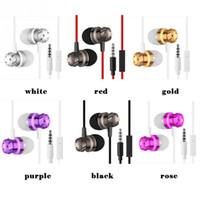 bass worms - Newest Original Metal worm gear bass in ear earphones wire belt computer supper bass mobile phone headphones Hot