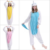 adult onesie funny - 2016 The unicorn Unisex Pajamas Costume Cosplay Animal Pets Costumes Onesie Sleepwear For Women Men Adults Long tailed Monkey pijamas mujer