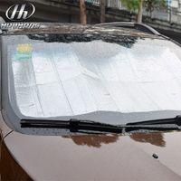 Whole Body auto dashboard covers - Car foldable reflective shades Auto Windshield Sunshade Sun Shade Windshield Visor Dashboard Cover Block Heat Reflective