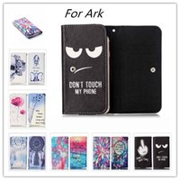 benefit card - PU Leather Phone Cases For Ark Benefit M501 M502 M503 M506 S502 S503 Impulse P2 LTE Wallet Style With Card Slot Cover Case