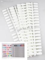 al por mayor mostrar las uñas flase-Nuevo listado Libro de exhibición Acrylic Flase Tips # 6 180pcs / pack Para el gel de uñas de gel UV que muestra la exhibición del libro del color Freeshipping 684