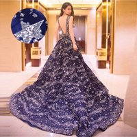 beaded knitting patterns - Sparkly Long Royal Blue Red Evening Dresses Crew Neck Sequined Formal Evening Gowns Cheap Prom Party Dress Pageant Dresses