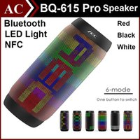 Wholesale AEC BQ Pro Colorful Waterproof Bluetooth Mini Speaker Wireless NFC Super Bass Subwoofer Outdoor Sport Sound Box FM Portable Speaker