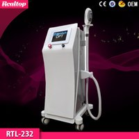 Wholesale HOTTING IPL SHR Machine Best Professional IPL Machine for Hair Removal Skin Rejuvenation Pigment Therapy Beauty Machine IPL with ND YAG