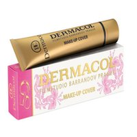 Wholesale 2016 Newest Dermacol Base Makeup Cover Primer Concealer Professional Face Contour Palette original anniversary limited edition Christmas