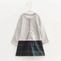 Wholesale MinBoutique Winter Autumn Girl s Dress Kids Clothes N12020