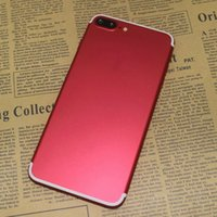 Couleur de messagerie android Prix-New Red Color Goophone i7 Plus 128 Go 256 Go Quad Core MTK6580 5,5 pouces 1920 * 1080 FHD 13MP 3G WCDMA Android 6.0 Smartphone