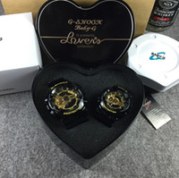 Lovers G relojes deportivos Baby-g mujeres reloj ga110 hombres impermeable relojes pulsera relojes G100 Original Heart Box