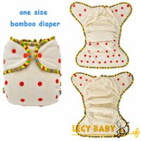 bamboo terry nappies - 2014 one size Baby Bamboo Diapers organic Bamboo French terry Cloth Diaper Nappies with bamboo inserts