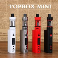 Wholesale 2016 clone Topbox Mini W Kit Topbox Nano TC Kit W Starter Kit with Top Refilling Toptank Mini nano vapen kits