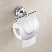 Wholesale Chrome Finish Roll Toilet Paper Holder Wall Mounted