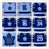 Wholesale Toronto Maple Leafs Mitchell Marner William Nylander Auston Matthews Jersey Men s Stitched Hockey Jerseys S XL