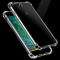 For Apple iPhone absorbent gel - Air Cushion case for iphone and Plus Advanced Shock absorbent Scratch resistant Cover Flexible TPU Gel