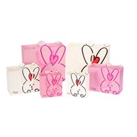 Wholesale Cute Rabbit Design Kids Candy Box Cartoon Small Large Gift Bags Children s Birthday Party Decoration Goody Bag ZA1873