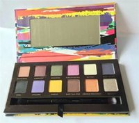 artist shadow boxes - Artist Palette Eyeshadow Makeup Cosmetics Eye shadow Palette g Color With Brush in box