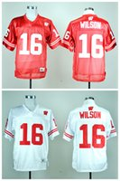 badger size - Wisconsin Badgers Russell Wilson College Football Jersey Men s White Red Football Jerseys Good Quality Size M XXXL