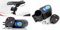Wholesale Bike Bicycle Cycling Wireless Remote Control Alarm Siren Shock Vibration Sensor Cycling Lock Guard Anti theft