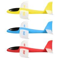 Planeadores de bricolaje España-Venta al por mayor- DIY artesanal de peso ligero de espuma de avión de mano de lanzamiento planador modelo de avión de vuelo juguete de los niños juguetes educativos de aprendizaje