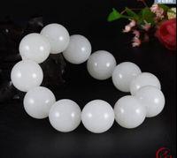 authentic jade bracelet - Authentic hetian jade white jade men s and women s bracelet