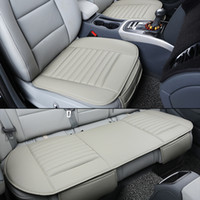 Wholesale Car seat covers Full set with two front seat cover and a rear seat cover for car interior accessory in common use