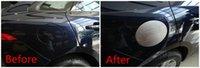 automotive decorative trim - Automotive fuel tank cap decorative frame trim cover for Jaguar F PACE