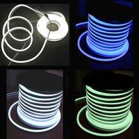 Wholesale AC110 AC220V SMD2835 LED Neon Flex Strip Light W M LED Neon Light LEDS LED Rope Lights Neon Beer Signs