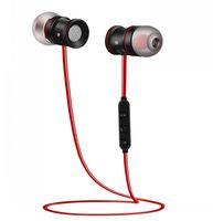 Wholesale IEC bluetooth headphone BTH Wireless Earbuds Microphone Stereo iPhone phone Hi Fi music and HD calling in ear earphones