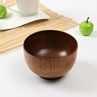 Wholesale The wooden bowl manufacturers of lacquer acid jujube soup to intnal explosion