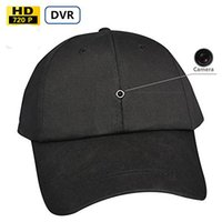 battery operated camera - 8GB New Video Recording Cap Mini Spy Camera Hat Camcorder Battery Operated Baseball Cap Camera Fashionable Hat Camera