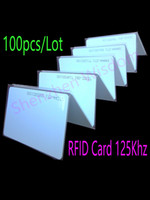 Wholesale RFID Khz Card EM4100 TK4100 Smart Card ID PVC Card fit For Access Control Time Attendance