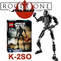 Wholesale Rogue One A Star Wars Story K SO action figure building blocks toys plastic dolls Assemble diamond build blocks In stock