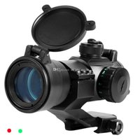 Wholesale New Hot mm Red Green Tactical Dot Rifle Scope Sight Picatinny Weaver Rail Mount F00439 CADR