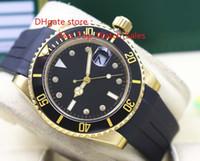 2017 El nuevo 116618 dial de diamante negro Asia 2813 movimiento 40 mm negro bisel de cerámica Relojes Hombres Nueva llegada