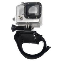 Wholesale Hot Sale of GP93B Gopro Sport Camera Diving Housing Case Adjustable Wrist Strap Mount for Go pro Hero Hero3 Camera F170109