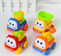 Wholesale Explosion of children s toys mini baby car baby toys inertia toy car box a price